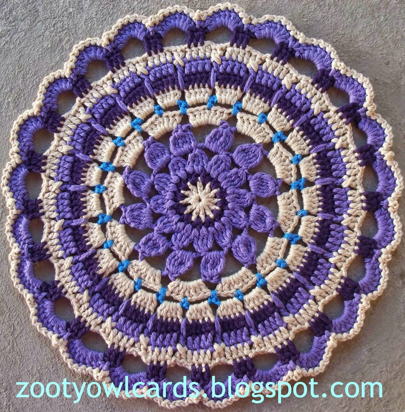 Crochet Mandalas Lovely Zooty Owl S Crafty Blog Dahlia Mandala Pattern Of Incredible 41 Pics Crochet Mandalas