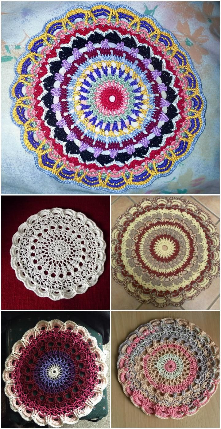 Crochet Mandalas New 60 Free Crochet Mandala Patterns Page 8 Of 12 Of Incredible 41 Pics Crochet Mandalas