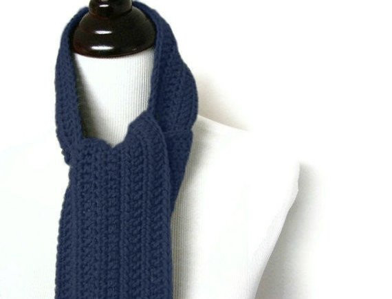 Crochet Mens Scarf Awesome Mens Scarf Navy Blue Crochet Man Long Masculine Uni Neck Of Gorgeous 49 Ideas Crochet Mens Scarf