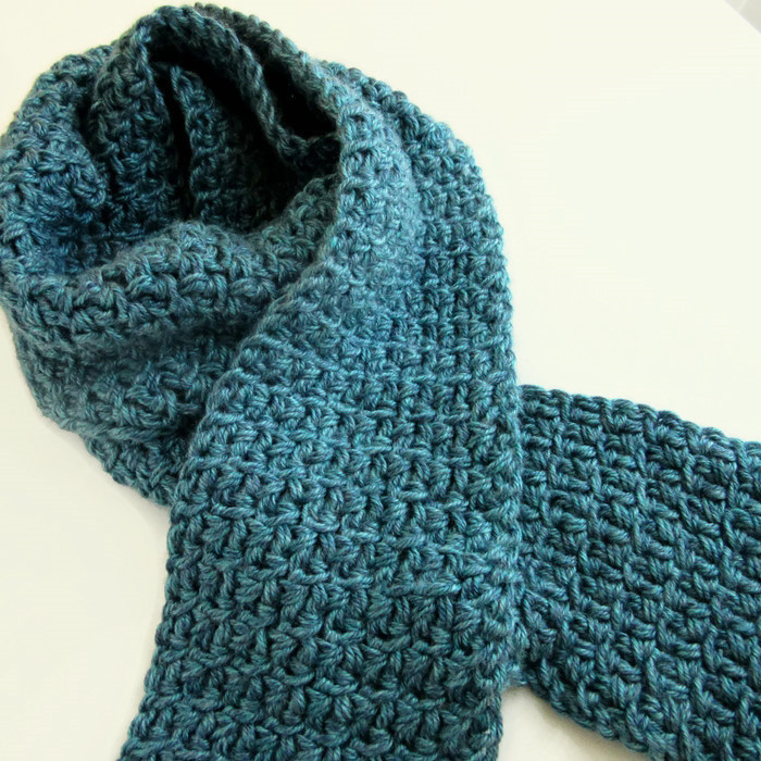 Crochet Mens Scarf Awesome Mens Teal Blue Scarf Hand Knit Crochet Winter Scarves Of Gorgeous 49 Ideas Crochet Mens Scarf