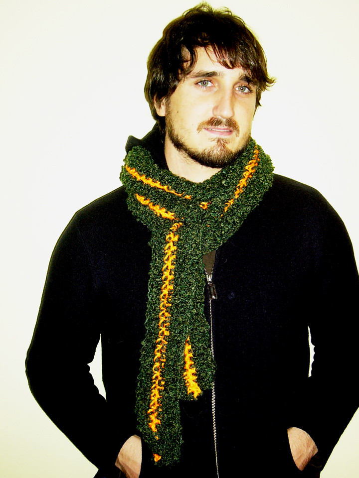 Crochet Mens Scarf Fresh New for Men Construction Scarf and Owl Applique Of Gorgeous 49 Ideas Crochet Mens Scarf