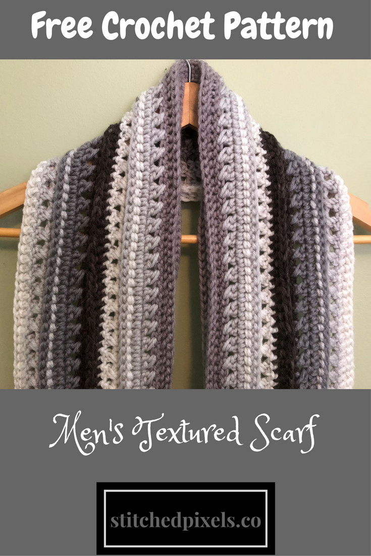 Crochet Mens Scarf Lovely Stitched – Your Place for New and Unique Crochet Of Gorgeous 49 Ideas Crochet Mens Scarf