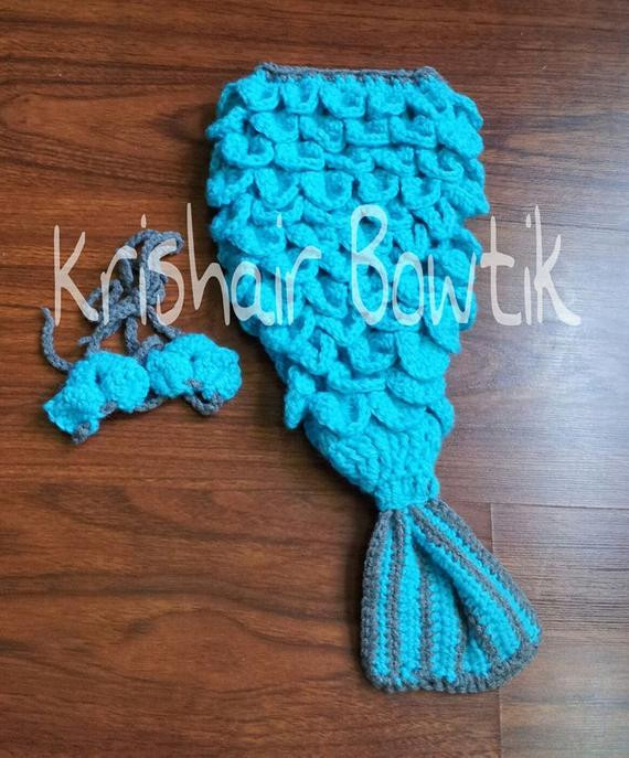 Crochet Mermaid Baby Outfit Awesome Baby Mermaid Outfit Baby Crochet Mermaid by Krishairbowtik Of Great 49 Pics Crochet Mermaid Baby Outfit