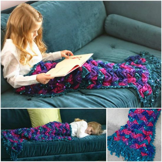 Crochet Mermaid Blanket Inspirational Crochet Mermaid Blanket Of Unique 48 Images Crochet Mermaid Blanket