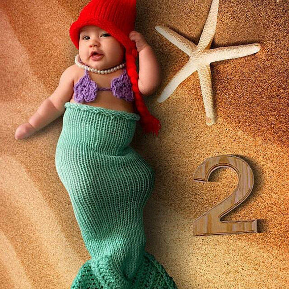Crochet Mermaid Outfit Awesome Disney Baby Outfit Little Mermaid Newborn Crochet Mermaid Tail Of Contemporary 36 Photos Crochet Mermaid Outfit