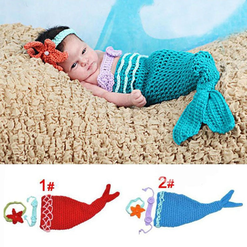 Crochet Mermaid Outfit Best Of Aliexpress Buy Baby Infant Mermaid Tail Shells Of Contemporary 36 Photos Crochet Mermaid Outfit