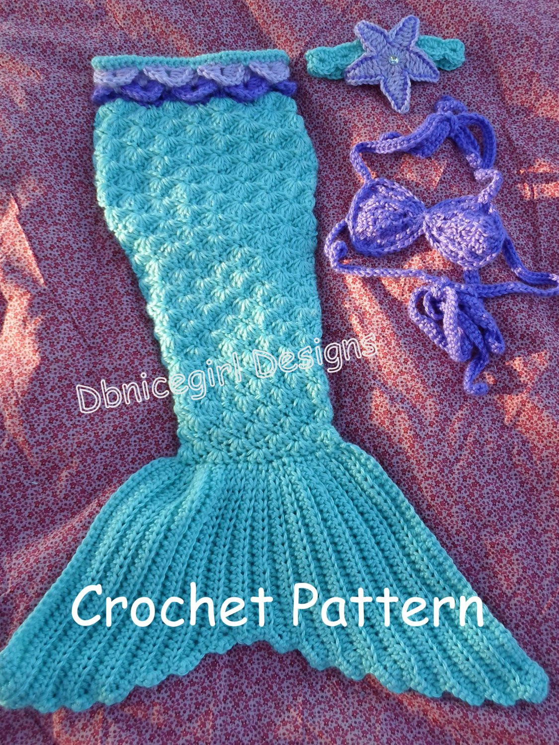 Crochet Mermaid Outfit Fresh Mermaid Costume 4 Piece Set Crochet Pattern Of Contemporary 36 Photos Crochet Mermaid Outfit
