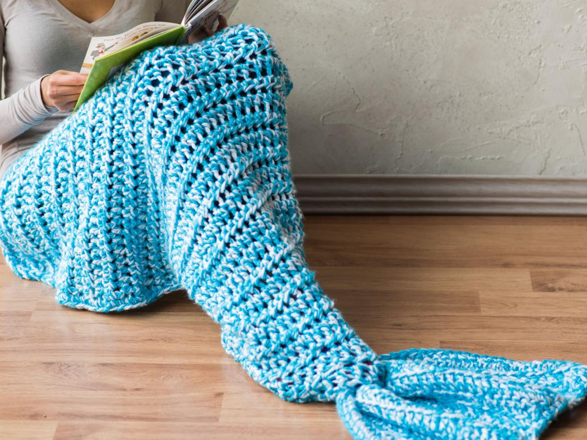 Crochet Mermaid Tail Best Of Quick and Bulky Mermaid Tail Blanket Crochet Kit Of Adorable 47 Pictures Crochet Mermaid Tail