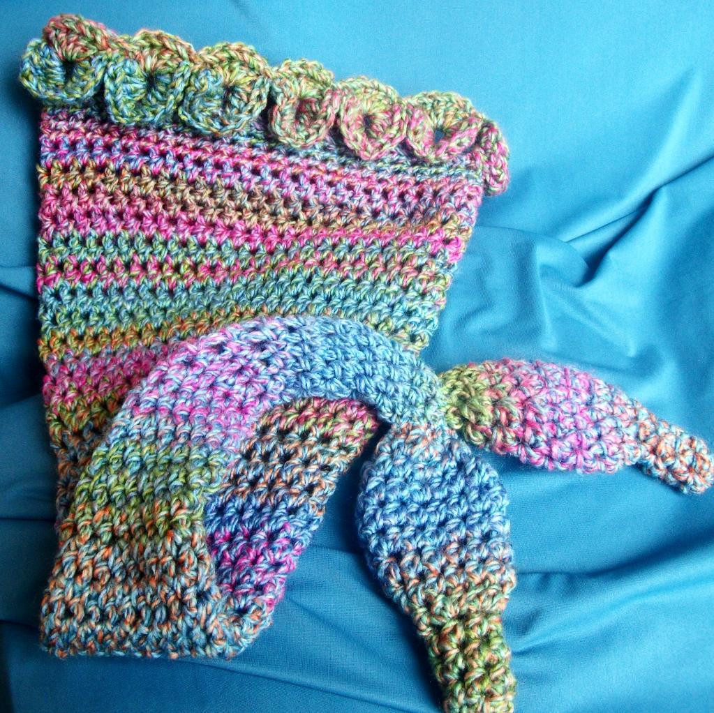 Crochet Mermaid Tail Inspirational Crochet Mermaid Tail Blankets & Props for Kids & Adults Of Adorable 47 Pictures Crochet Mermaid Tail