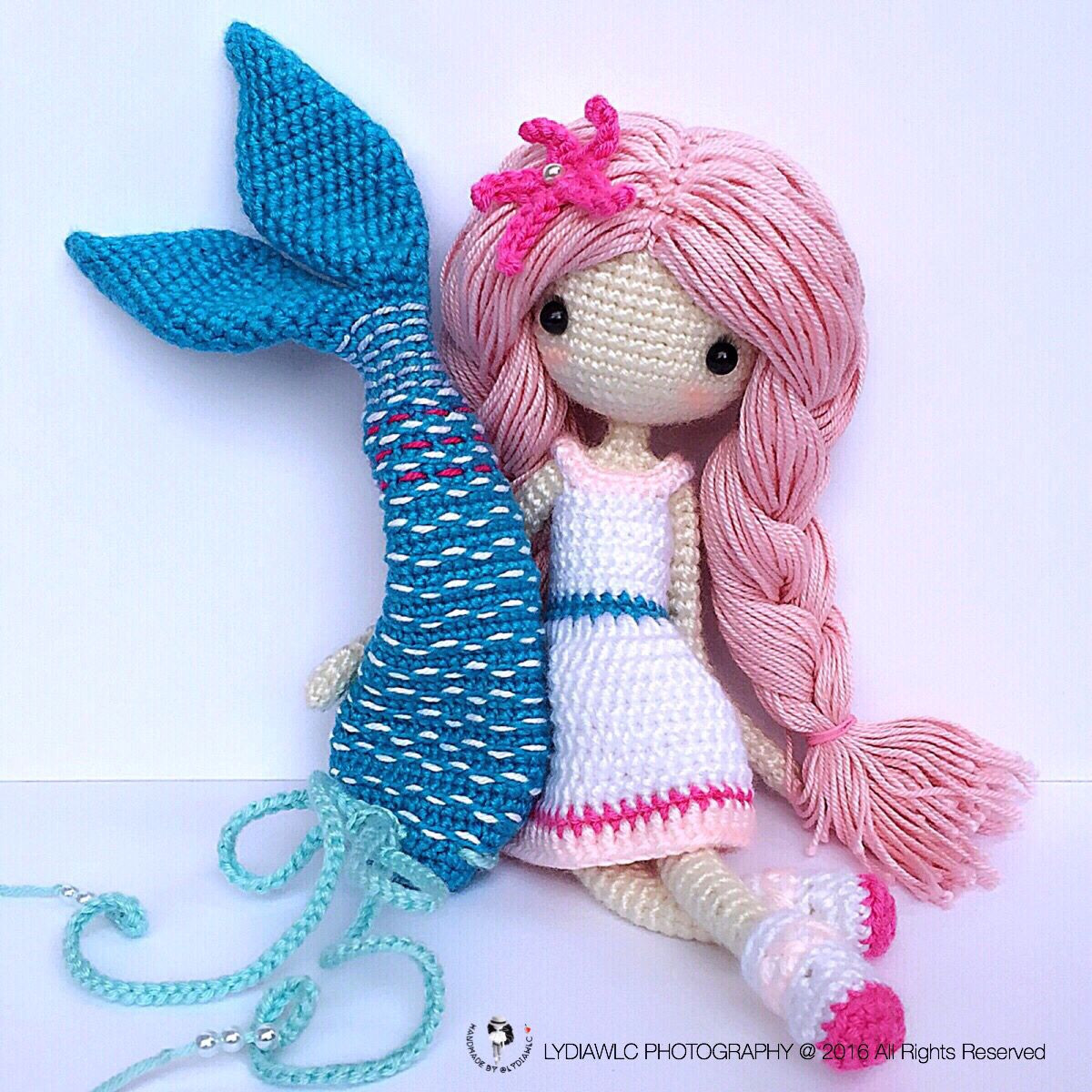 Crochet Mermaid Unique Mermaidava艾娃 Pattern Pdf is Available for Sale now Of Perfect 41 Ideas Crochet Mermaid