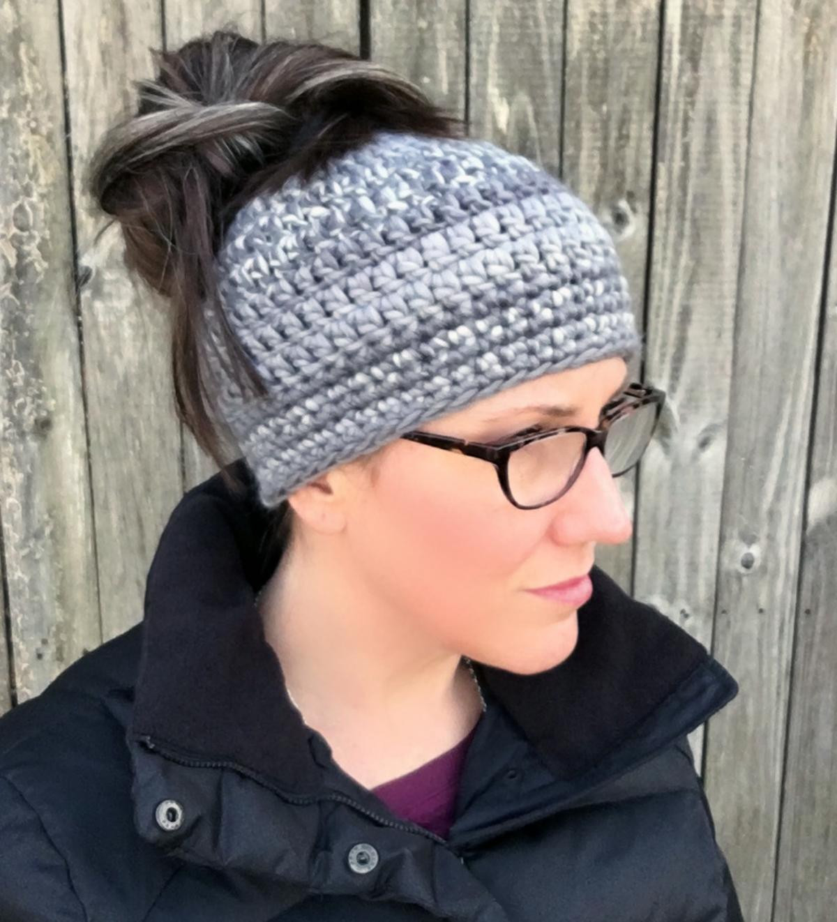 Crochet Messy Bun Beanie Best Of Messy Bun Beanie Crochet Of New 43 Photos Crochet Messy Bun Beanie