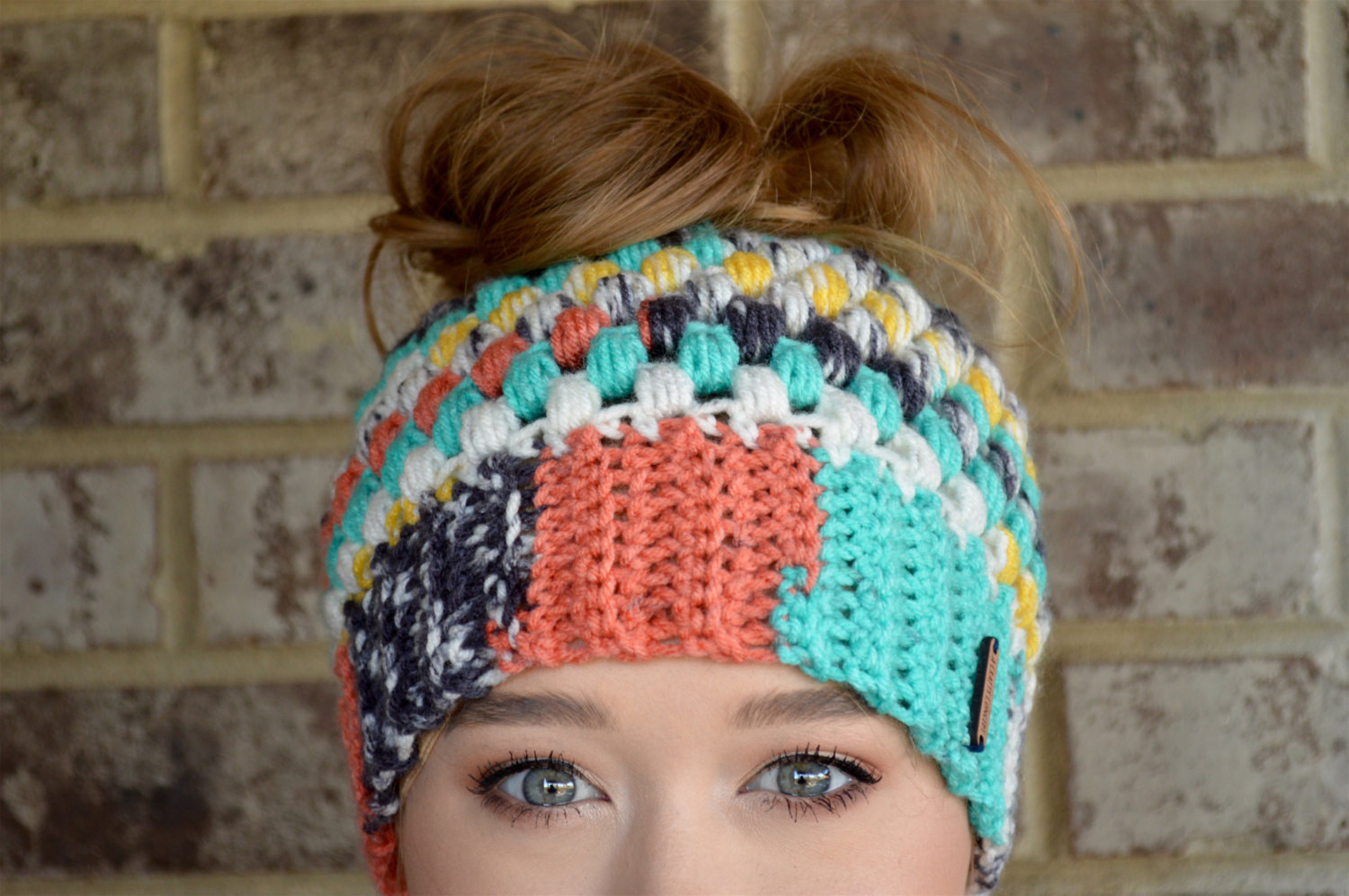 Crochet Messy Bun Beanie Best Of top Knot Beanie Crochet Messy Bun Beanie Mom Bun Beanie Man Of New 43 Photos Crochet Messy Bun Beanie