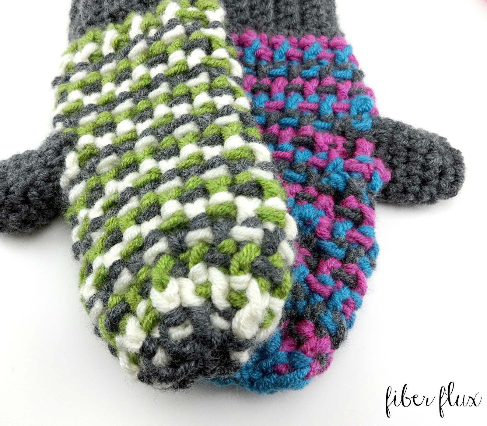 Crochet Mittens Awesome Fiber Flux Free Crochet Pattern Sleigh Ride Mittens Of Brilliant 48 Pictures Crochet Mittens