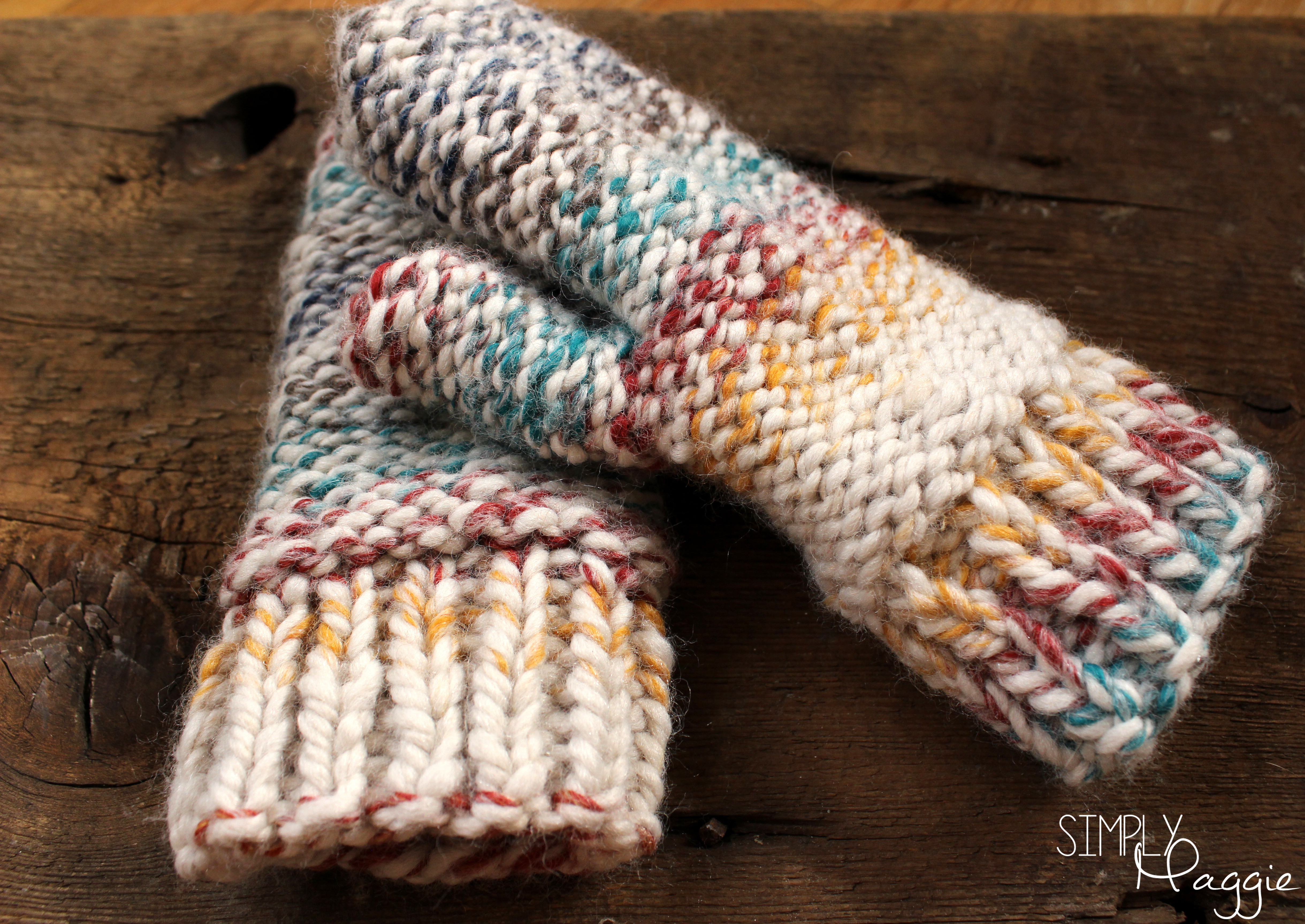Chunky Mittens Pattern e Skein Project