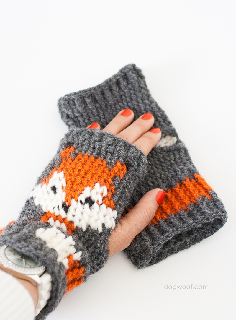 Crochet Mittens Luxury Fox Fingerless Gloves Crochet Pattern E Dog Woof Of Brilliant 48 Pictures Crochet Mittens