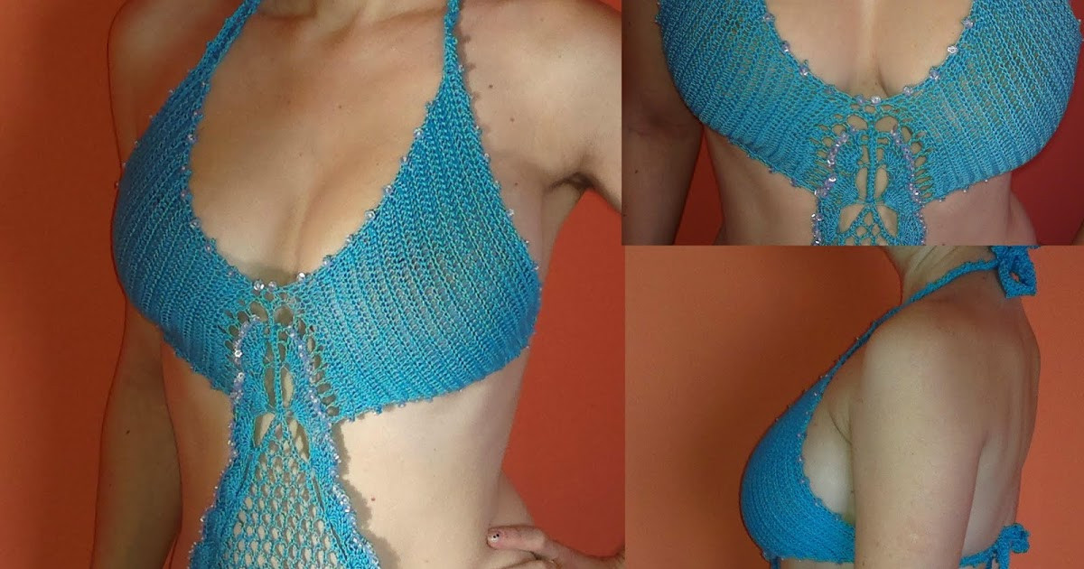 Zelia Crochet Monokini New Collection