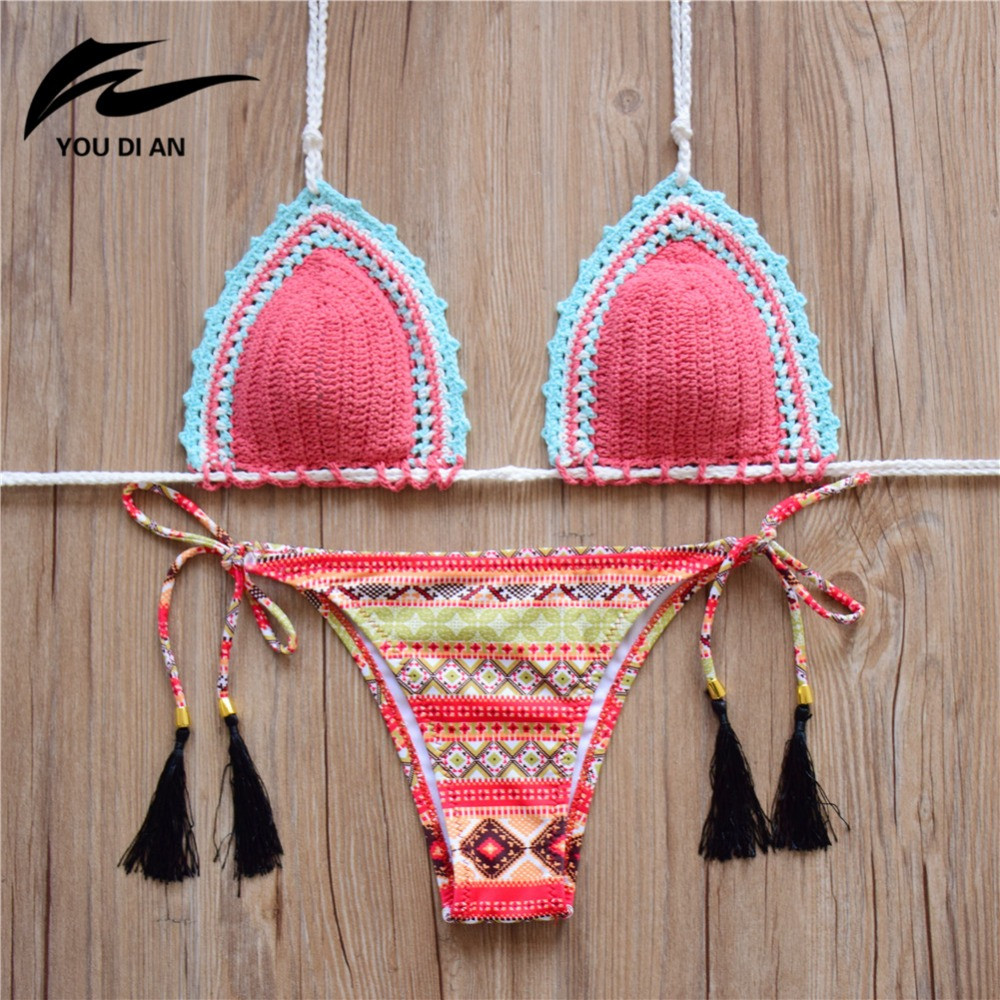 Crochet Monokini Swimsuits Luxury 2016 Women Swimsuit Crochet Bikini Swimwear Women New Of Superb 43 Pics Crochet Monokini Swimsuits