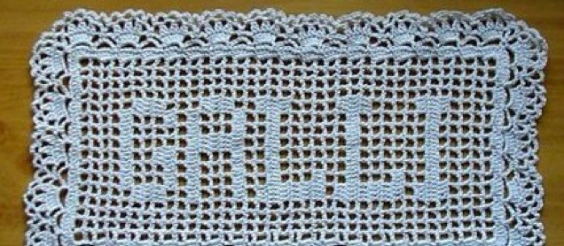 Crochet Name Doily Fresh Free Look Filet Crochet Name Doily Instructions Of Lovely 45 Images Crochet Name Doily