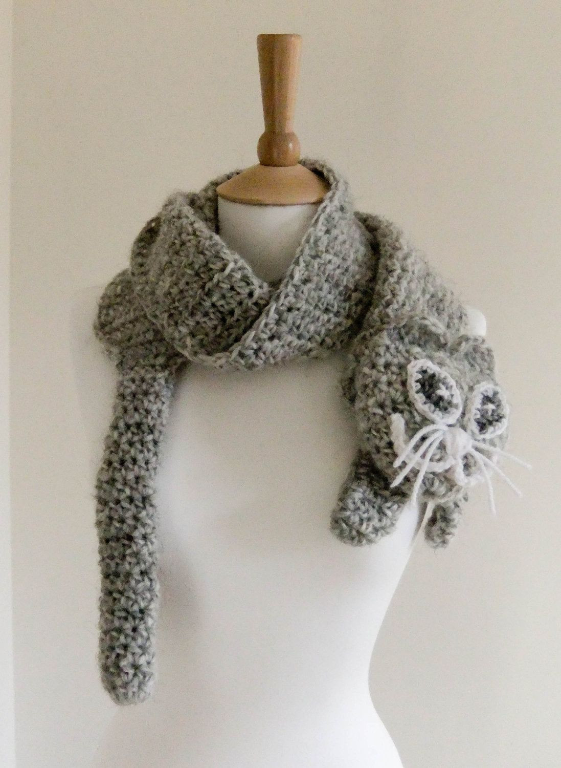 Crochet Neck Scarf Elegant Crochet Free Cat Projects Of Great 50 Ideas Crochet Neck Scarf