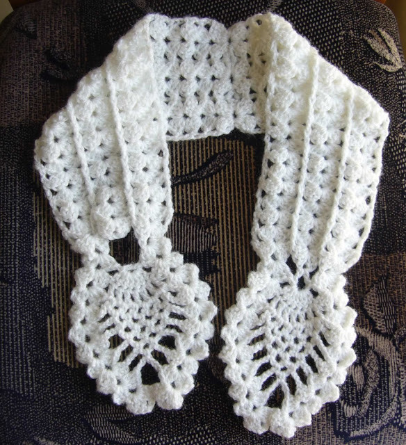 Crochet Neck Scarf Fresh Crochetkari Crochet Pineapple Neck Warmer Of Great 50 Ideas Crochet Neck Scarf