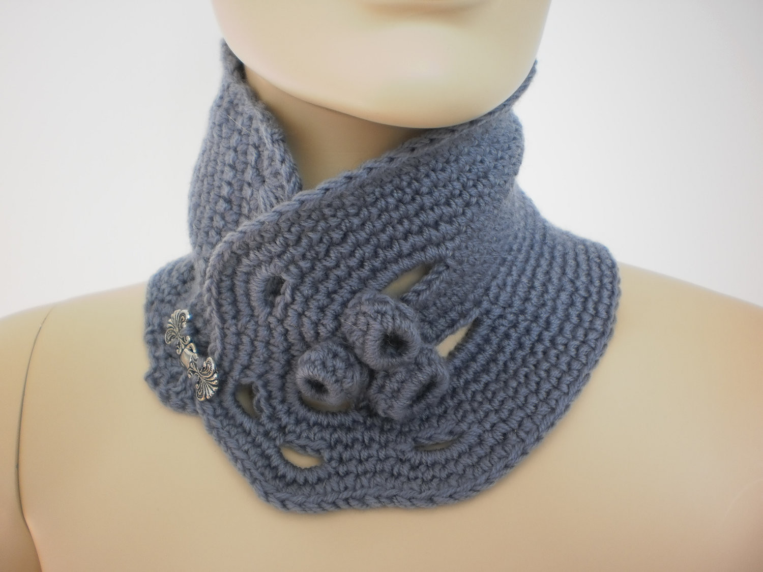 Crochet Neck Scarf Inspirational 16 Bufandas De Crochet Y Dos Agujas Para Mujer Of Great 50 Ideas Crochet Neck Scarf
