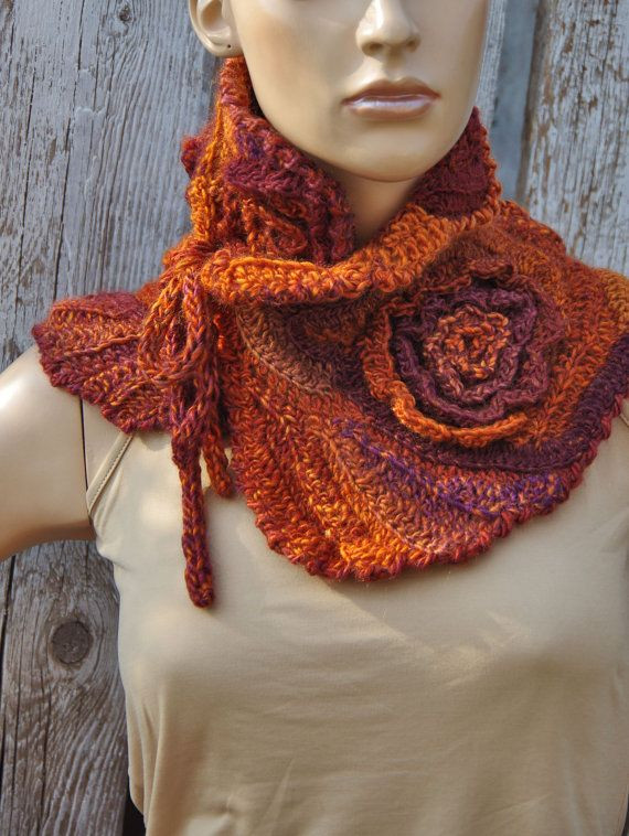 Crochet Neck Scarf Unique 25 Best Ideas About Neck Warmer On Pinterest Of Great 50 Ideas Crochet Neck Scarf