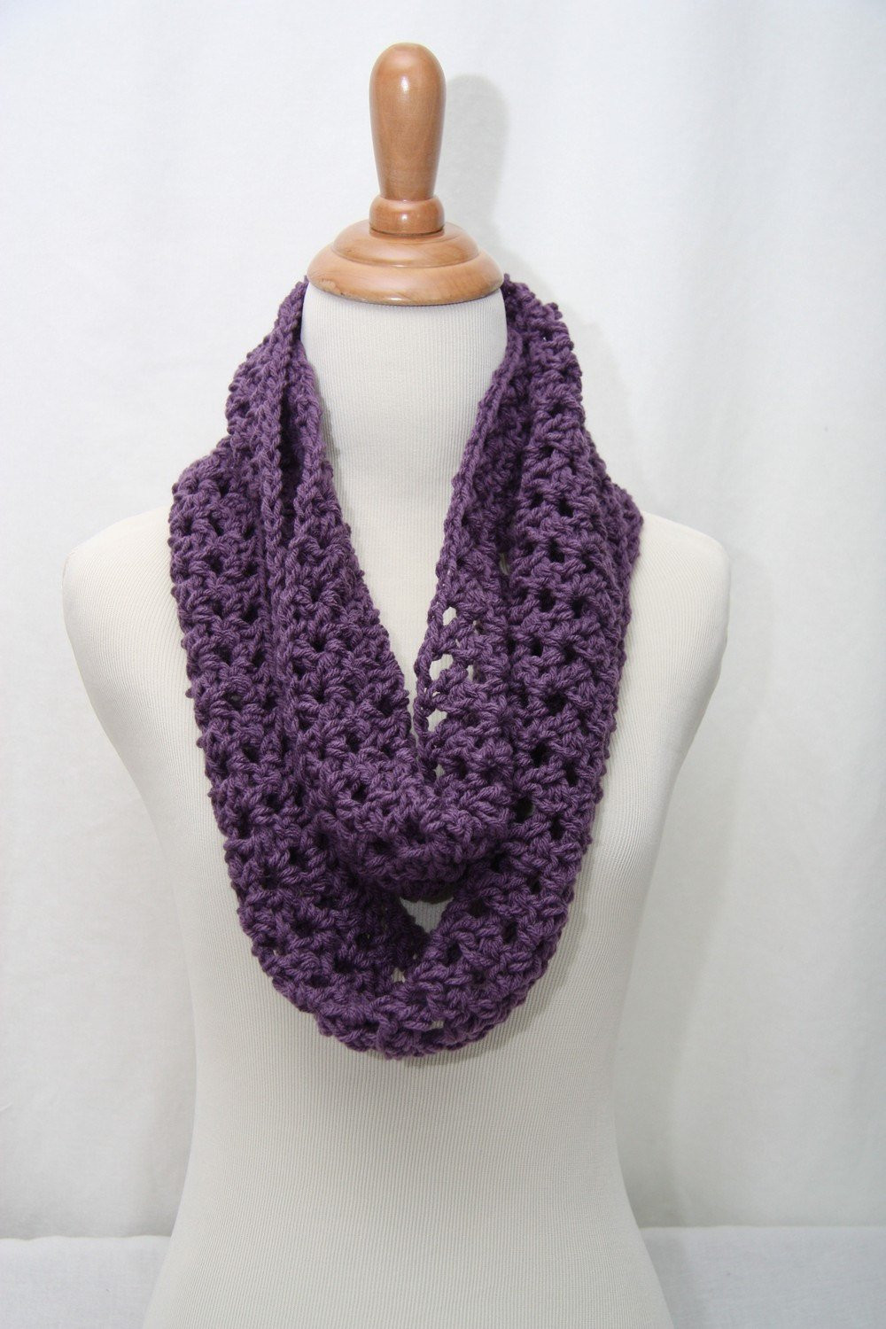 Crochet Neck Scarf Unique Crochet Cowl Neck Scarf Aqua Purple and Black by Shiara Of Great 50 Ideas Crochet Neck Scarf