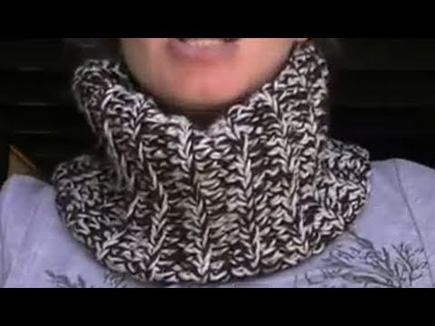 Crochet Beanie Hat and Neck Warmer in 1 Part 3 of 3