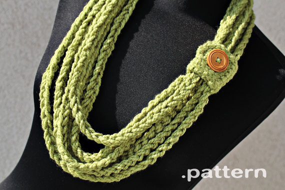Crochet Necklace Chain Elegant Crochet Chain Scarf Pattern No 023 Zoom Yummy Of Charming 44 Ideas Crochet Necklace Chain