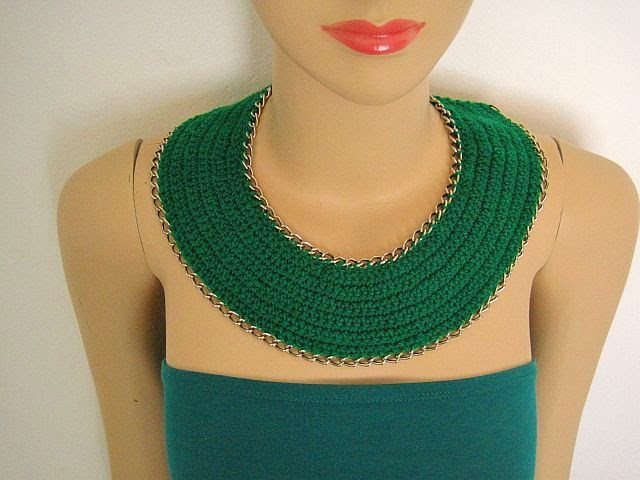 Crochet Necklace Chain Fresh How to Make A Crochet and Chain Necklace Greenie Dresses Of Charming 44 Ideas Crochet Necklace Chain