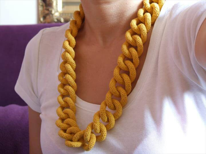 Crochet Necklace Chain Lovely 60 Free Vintage Crochet Jewelry Ideas Of Charming 44 Ideas Crochet Necklace Chain