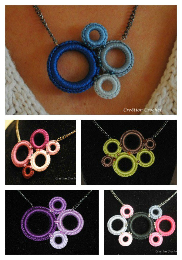 Crochet Necklace Chain Luxury 20 Amazing Free Crochet Patterns that Any Beginner Can Make Of Charming 44 Ideas Crochet Necklace Chain