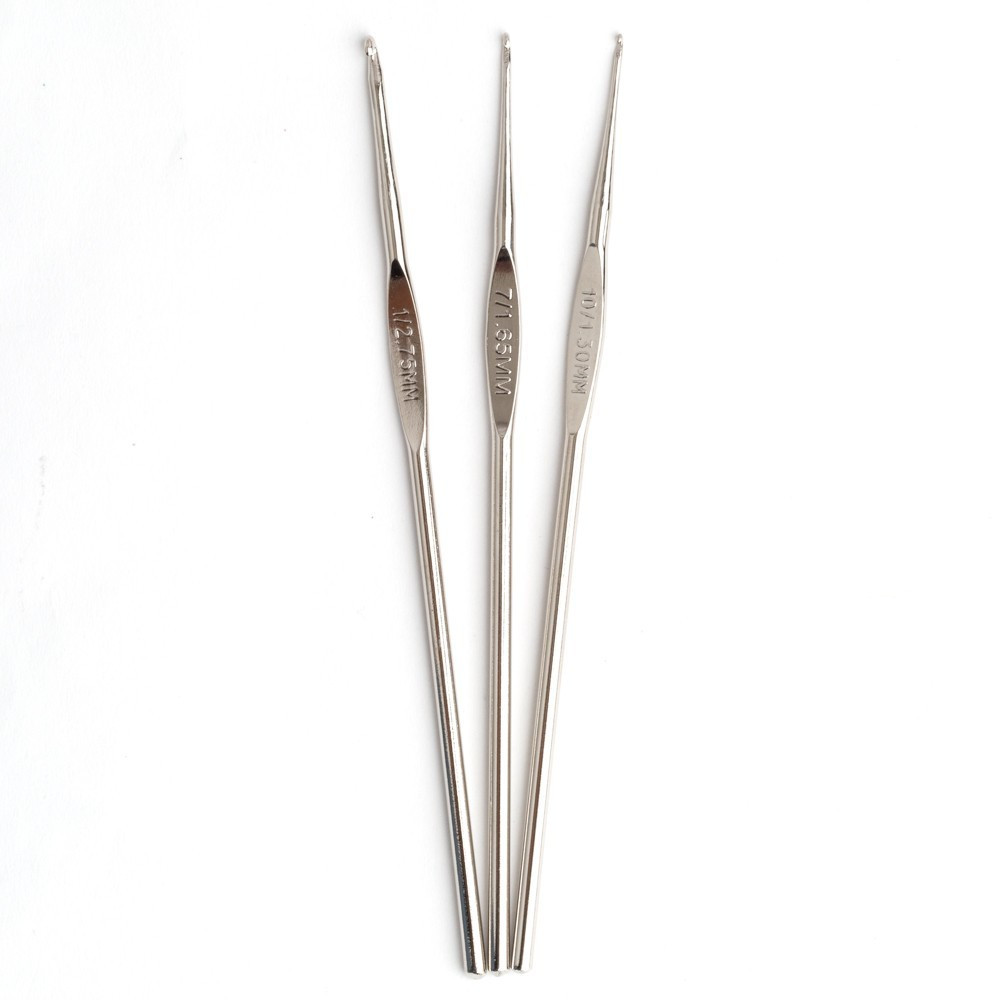 Crochet Needle Sizes Best Of Boye Steel Crochet Hook Set Sizes 1 to 10 Of Luxury 41 Ideas Crochet Needle Sizes