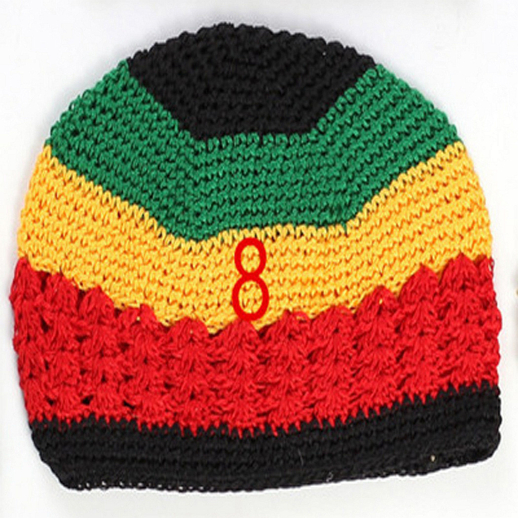 Cute Cap Knit Beanie Crochet Woolen Colorful Baby Hat