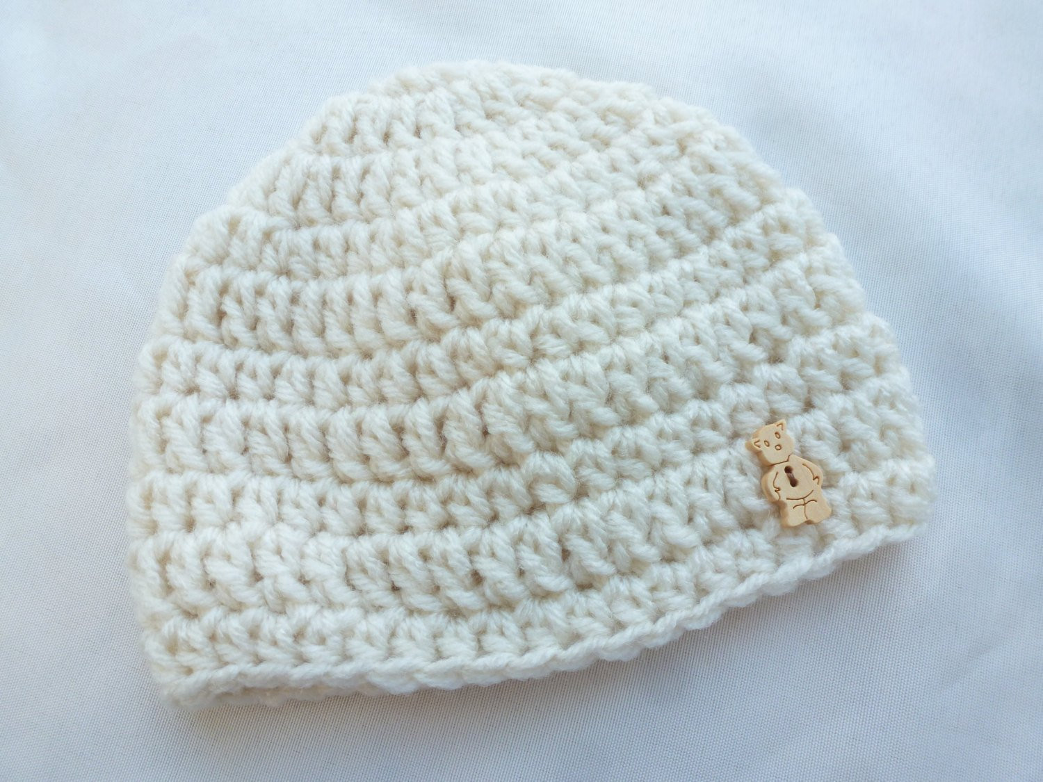 Crochet Newborn Beanie Best Of Newborn Baby Boy Beanie Crochet Baby Hat Cream with Teddy Of Luxury 43 Pictures Crochet Newborn Beanie