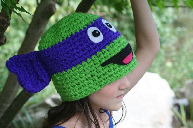 Crochet Ninja Turtle Hat Awesome Fun Ninja Turtle Hat for Baby Unique Handmade Character Hat Of Innovative 46 Pictures Crochet Ninja Turtle Hat