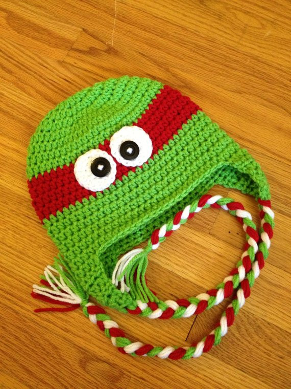 Crochet Ninja Turtle Hat Awesome Items Similar to Baby Newborn Ninja Turtle Crochet Hat Of Innovative 46 Pictures Crochet Ninja Turtle Hat