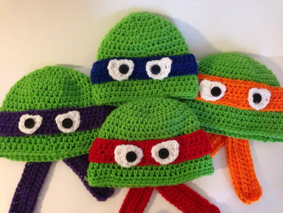 Crochet Ninja Turtle Hat Beautiful Ninja Turtle Beanies Of Innovative 46 Pictures Crochet Ninja Turtle Hat