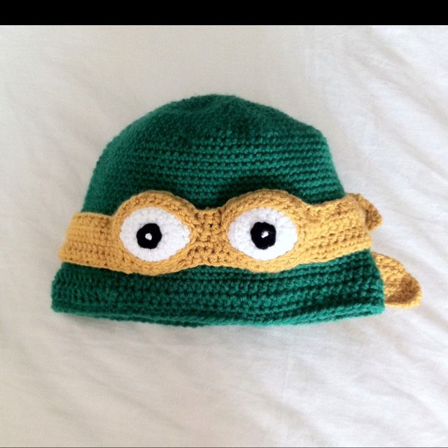 Crochet Ninja Turtle Hat Best Of Crochet Pattern for Teenage Mutant Turtle Hat for Free Of Innovative 46 Pictures Crochet Ninja Turtle Hat