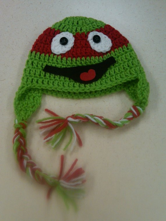 Crochet Ninja Turtle Hat Elegant Items Similar to Crochet Ninja Turtle Hat On Etsy Of Innovative 46 Pictures Crochet Ninja Turtle Hat