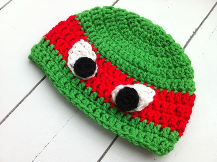 Crochet Ninja Turtle Hat Elegant Tmnt Crochet Hat Pattern Free Of Innovative 46 Pictures Crochet Ninja Turtle Hat