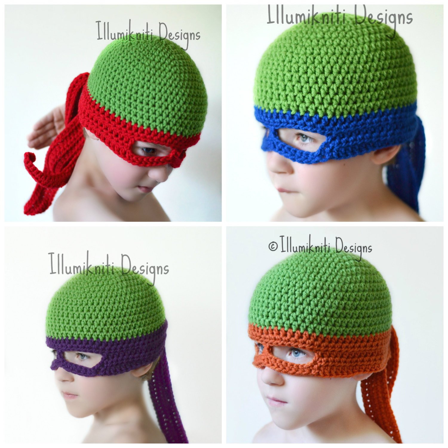 Crochet Ninja Turtle Hat Fresh Turtle Ninja Hat Crochet Fun Made to order by Of Innovative 46 Pictures Crochet Ninja Turtle Hat