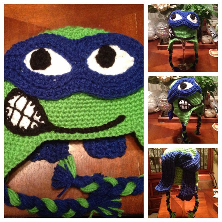 Crochet Ninja Turtle Hat Inspirational 19 Best Images About Crochet Teen Age Ninja Turtles On Of Innovative 46 Pictures Crochet Ninja Turtle Hat