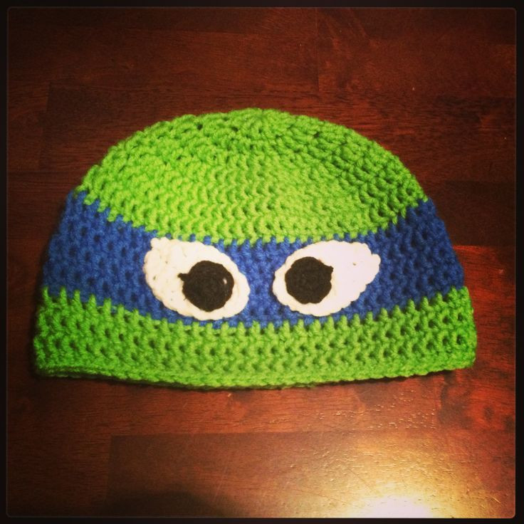 Crochet Ninja Turtle Hat Inspirational Crochet Ninja Turtle Hat Leonardo Of Innovative 46 Pictures Crochet Ninja Turtle Hat