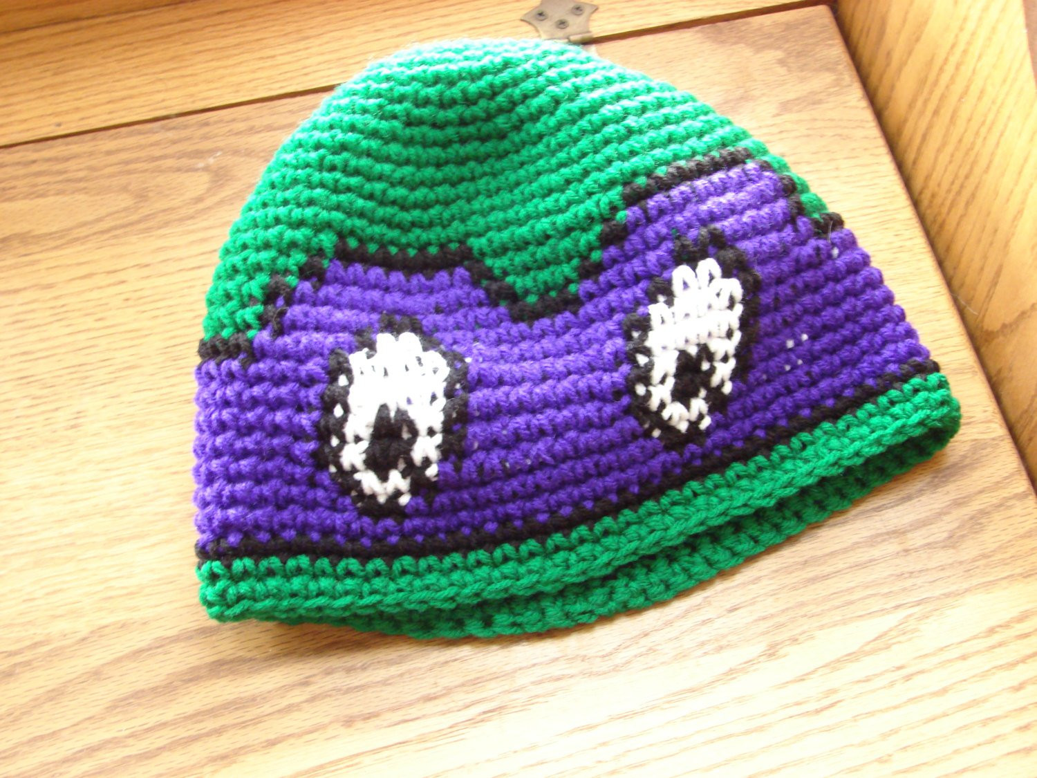 Crochet Ninja Turtle Hat Inspirational Crochet Teenage Mutant Ninja Turtle Beanie Hat the Color Of Innovative 46 Pictures Crochet Ninja Turtle Hat