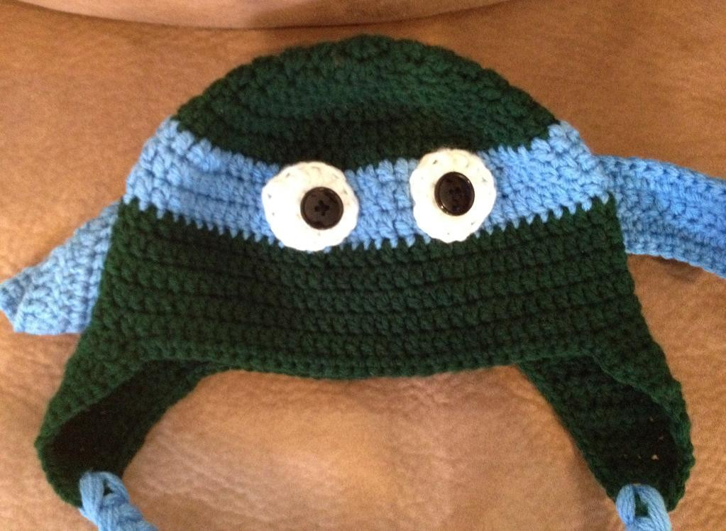 Crochet Ninja Turtle Hat Lovely Craftdrawer Crafts Free Crochet Teenage Mutants Ninja Of Innovative 46 Pictures Crochet Ninja Turtle Hat