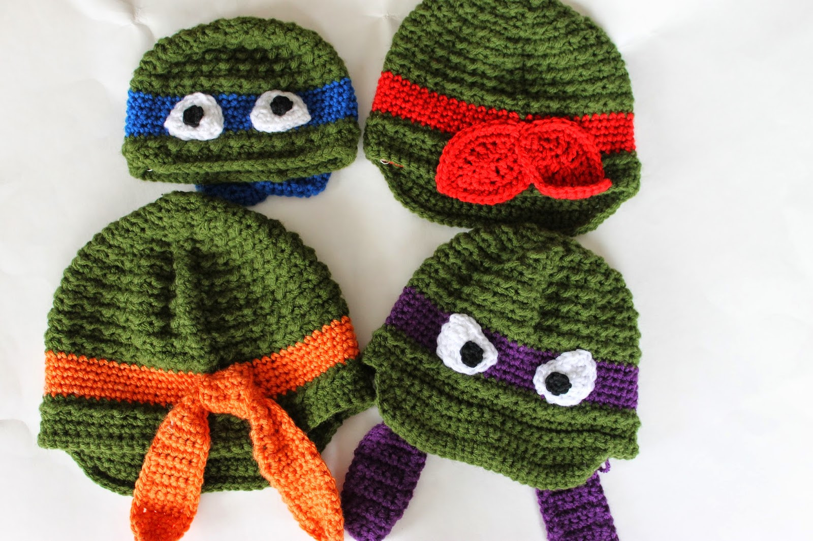 Crochet Ninja Turtle Hat Luxury Stay Home Stitchings Ninja Turtle Newsboy and Beanie Pattern Of Innovative 46 Pictures Crochet Ninja Turtle Hat