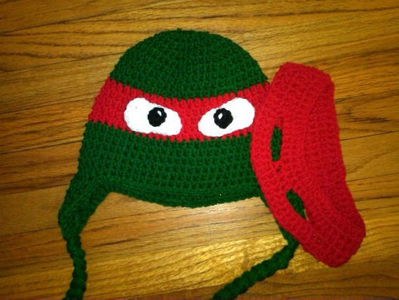 Crochet Ninja Turtle Hat New Crochet Ninja Turtle Inspired Hat with Removable Adjustable Of Innovative 46 Pictures Crochet Ninja Turtle Hat