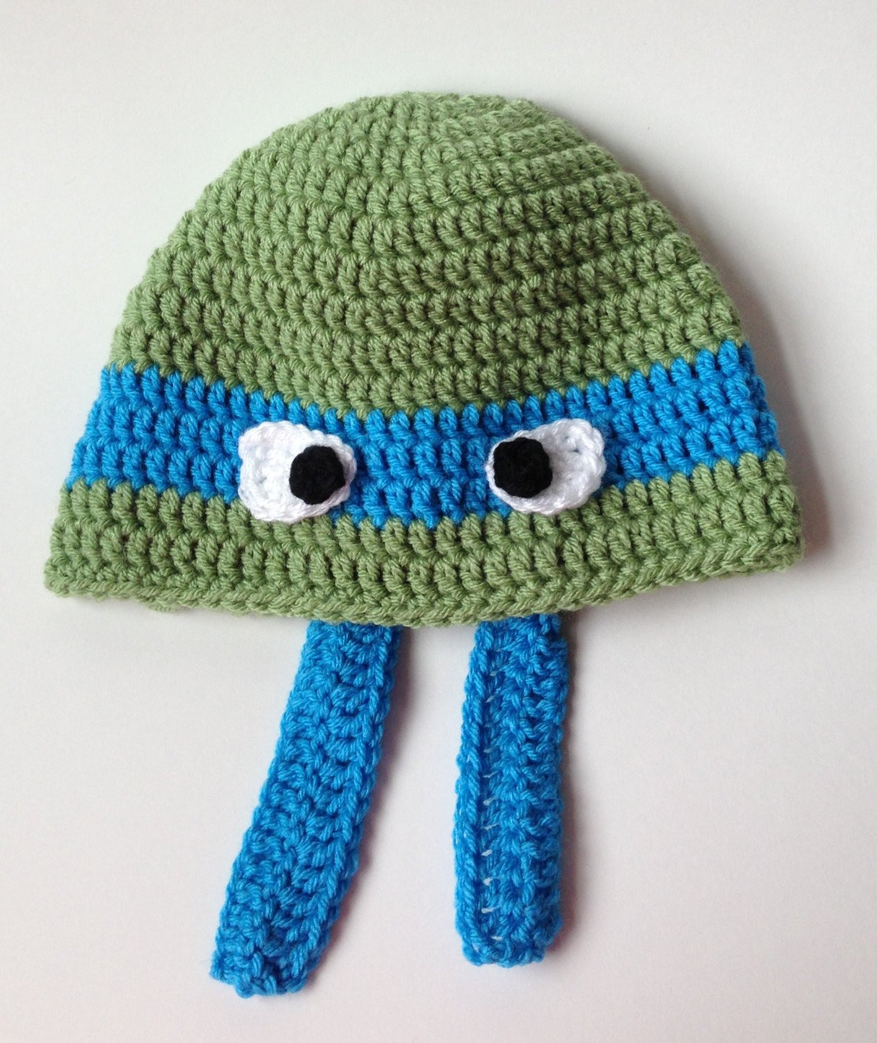 Crochet Ninja Turtle Hat New Ninja Turtle Hat Crochet Hat Ninja Turtle by Twopeasinapodco Of Innovative 46 Pictures Crochet Ninja Turtle Hat