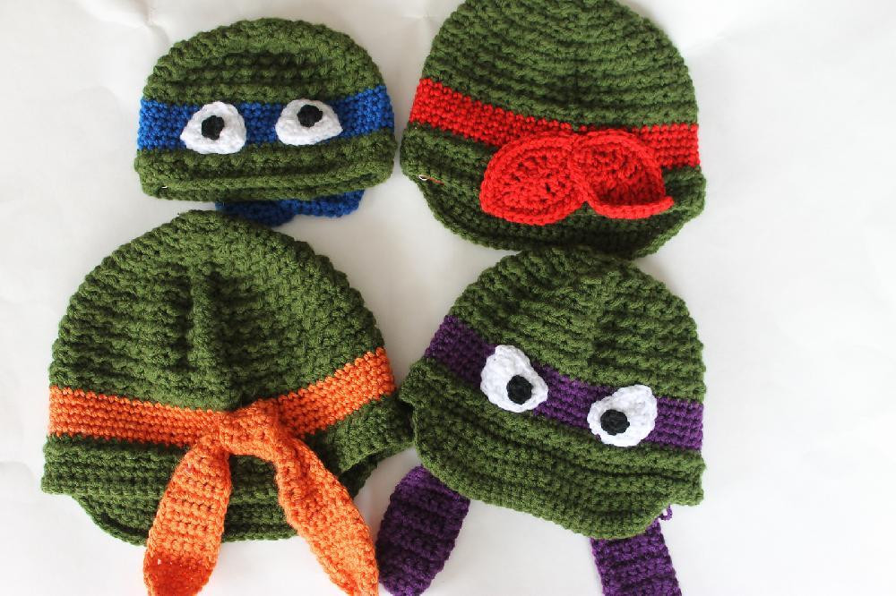 Crochet Ninja Turtle Hat New top 10 Geeky Crochet Patterns for Babies Of Innovative 46 Pictures Crochet Ninja Turtle Hat